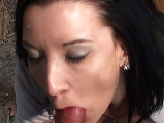 Tania Gets A Painful Anal In Stockings