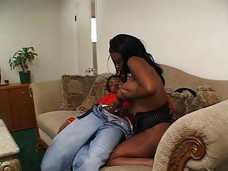 Big Tits Ebony Banged By Black Cock