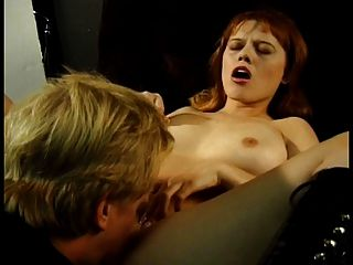 Horny Brunette Fills Her Hole With Hot Pole