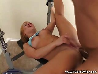 Taking A Bbc Up Her White Ass