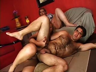 Bbw Watches Her Hubby Get Nailed By A Tranny