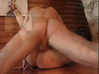 Waiter Gets Some Pussy As Tip From Brunette