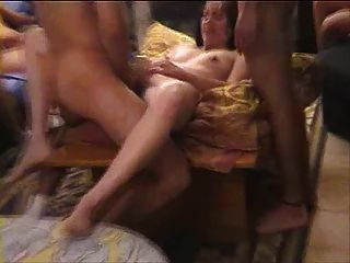 Slutty Wife Yael Get Gang Banged By 10 Guys
