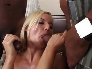 Barbara Summer Fucking Two Black Cocks L7
