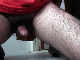 Prostate Cum With Dildo