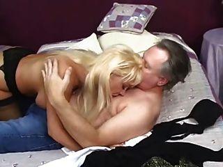 Big Tittied Blonde Milf Kandi Cox Blowjob And Sex