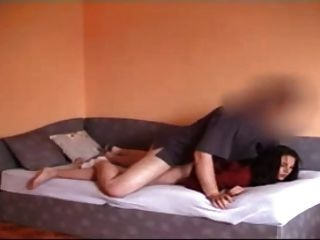 Sexy Lady Filmed Having Sex With Boyfriend