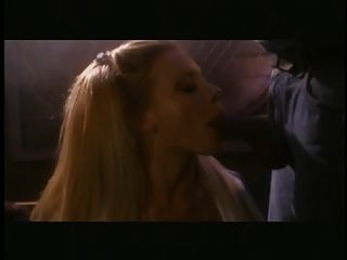 Hot Blonde Gets Her Tits Sucked And Finger Fucked By Two Black Guys