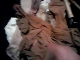 Cum In Mother In Laws Nylons