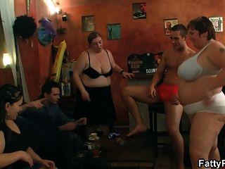 Three Bbw Sluts Dance And Give Head