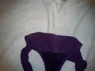Cousins Purple Panty & Bra Set
