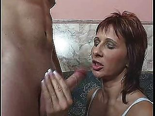 Red Headed Milf Gets It In Her Ass