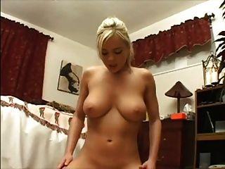 Amateur Blonde Gf Rides Cock