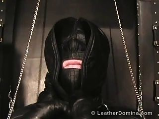 Leather Domina - Extreme Leather Bondage