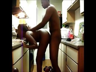 Slut Babe Hard Doggy In The Kitchen