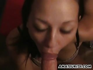 Young Amateur Teen Girlfriend Sucks And Rides