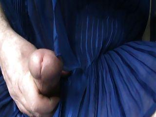 Big Blue Tits & Huge Clit Cum
