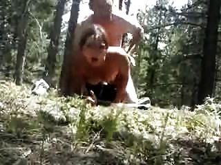 Amateur Assfuck In The Woods