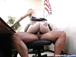 Busty Blonde Student Fucked Hard By Her Prof