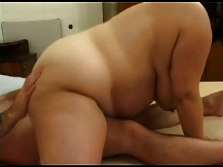 Horny Fat Bbw Friend Fucking On Cam -p2