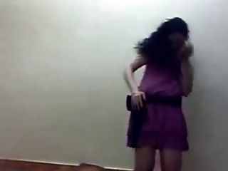 Ghadeer Ahmed Egyptian Feminist Girl Dancing