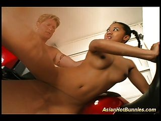 Asian Hot Bunny Gets Fucked With Big Cocks And Oral