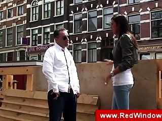 Guy Visiting The Red Light District