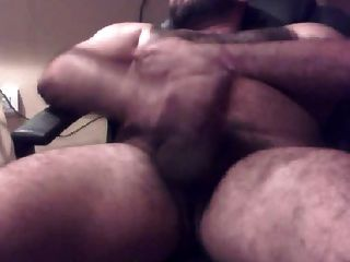 Thick Beefy Latin Hairy Wanker