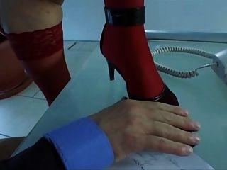 Mature Slut Bernadette Fucked In The Office