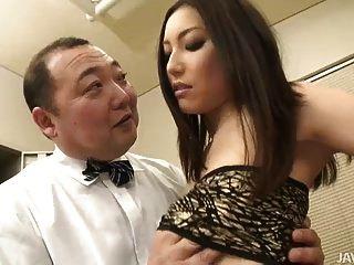 Young Nozomi Mashiro Dominates Her Old Boss