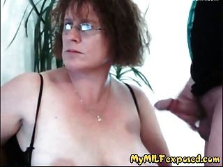 Chubby Milf Exposed - Bbw Mature Blowjob And Vibrator Action