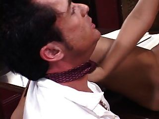 Lucky Boss Get A Blowjob From His Latina Secretary