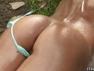 Swimming, Massage And Pussy Licking