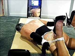 Knees Spread Hogtie