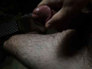 Cumming On My Leg