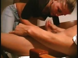 Beautiful Blowjob Performance From My Busty Blonde Gf