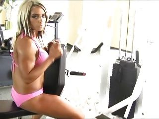 Kaitlyn Working Out In A Bikini (pre-wwe)