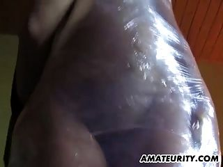 Tied Amateur Housewife Homemade Hardcore Action