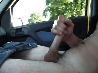 Horny Hunks In Car 1