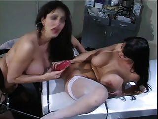 Summer Cummings Nurse Lesbian Toying 59