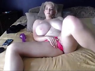 Blonde Tattoo On The Bed - Bigger