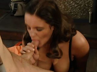 Nasty German Slut Sucks Hard Cock For Facial