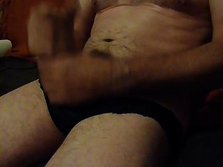 Me Wanking In Panties With Cum Shot