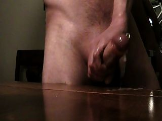 Wanking My Cock Huge Cum Shot