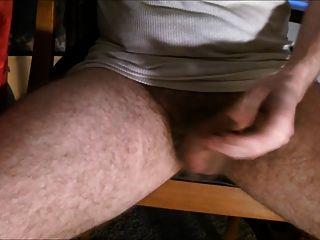 Jerking My Uncut Cock