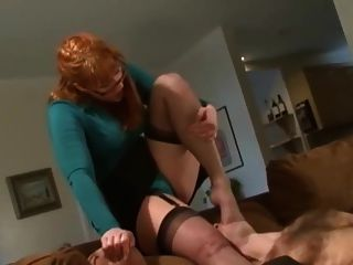 Dominant Redhead With A Big Strapon
