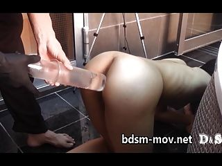 Enema And Female University Student - Mary