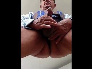 Hot Daddy Wanking