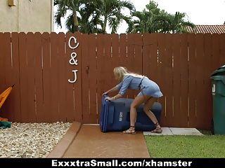 Exxxtrasmall - Cock Crazed Spinner Caught Spying