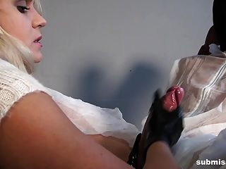 Barra Playing With Her Two Cum Pets